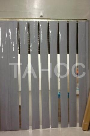 Комбинация прозрачной и цветной ПВХ-ленты
