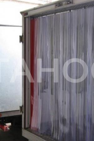 Полосовые ПВХ-завесы для термофургонов