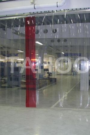 Термоштора для отделения рабочей зоны